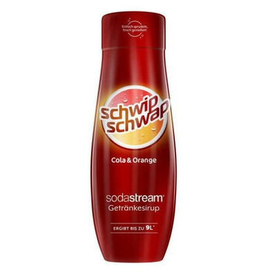 SYROP DO SODASTREAM SCHWIP SCHWAP COLA ORANGE SOK