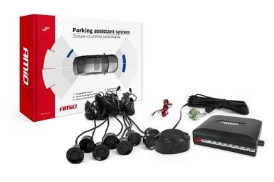 Комплект датчиков парковки заднего вида спереди вид сзади