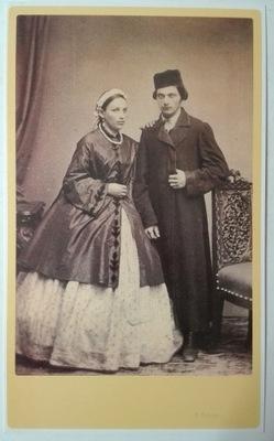 открытка Евреи молодые брак Кригер 1860 SPK