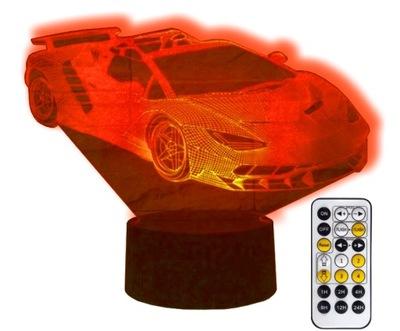 лампа Ночная 3D АВТО ?????????? Lamborghini LED