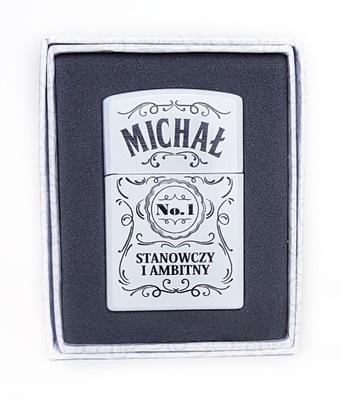 Zapalniczka prezent imieniem MICHAŁ IMIENINY #98