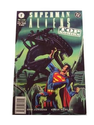 SUPERMAN ALIENS 3/99