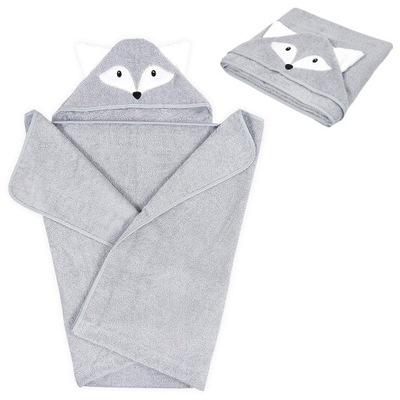 POLSKI ręcznik kąpielowy z kapturkiem XXL 120x100