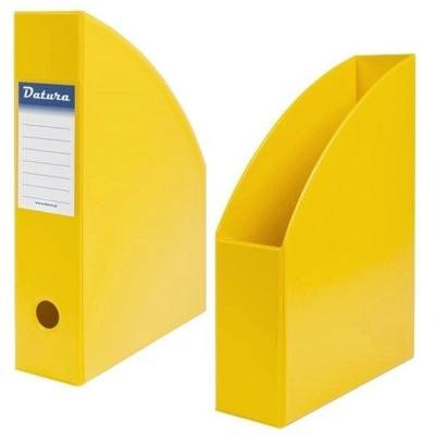 Pojemnik na czasopisma Dotts A4 7cm żółty PCV