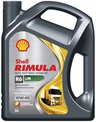 Shell Rimula R6 LM 5L 10W-40