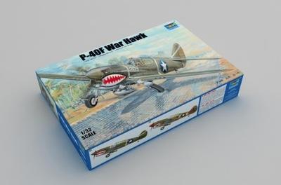 Trumpeter 03227 P-40F War Hawk 1:32