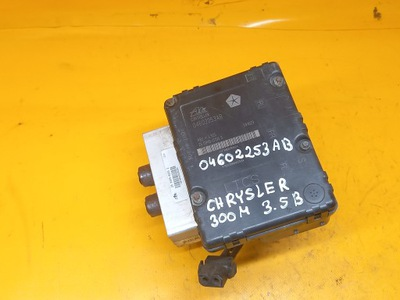 БЛОК УПРАВЛЕНИЯ ABS CHRYSLER 300M 3,5B ATE 04602253AB