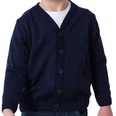Granatowy Sweterek dla chłopca r. 68