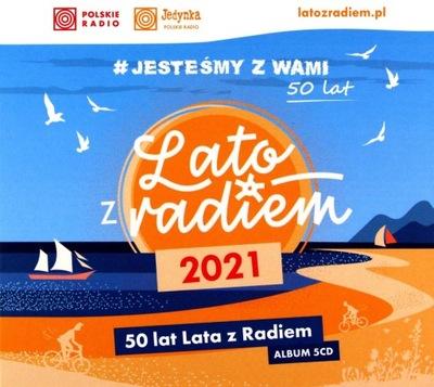 LATO Z RADIEM 2021 - JESTEŚMY Z WAMI 50 LAT (5CD)