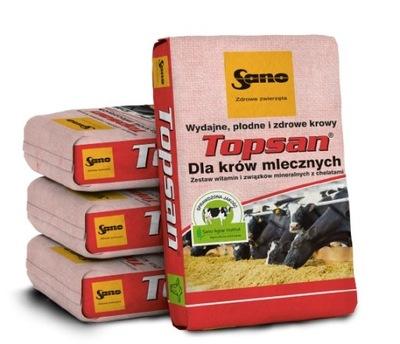 Topsan NON_GMO витамины для молочных коров Sano