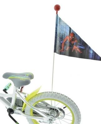 FLAGA NA ROWER CHORĄGIEWKA ROWEROWA SPIDER MAN