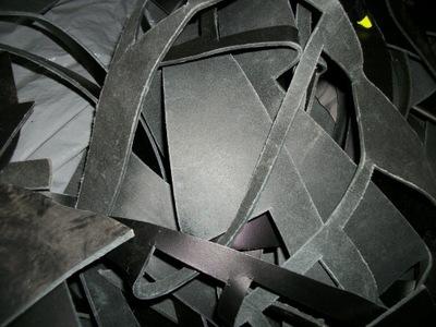 кожа натуральная черная BLANK ТОЛСТАЯ 2 ,5 мм 1 КГ