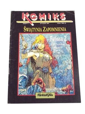 KOMIKS FANTASTYKA ŚWIĄTYNIA ZAPOMNIENIA 7/1991