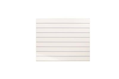 Space Slat Wall 100x90cm Белый ТАПОЧКИ Серые F10cm