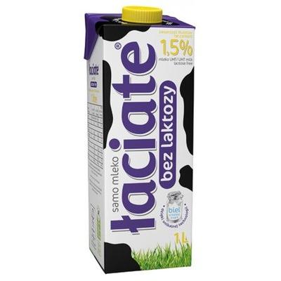 Łaciate Mleko UHT bez laktozy 1,5% 1 l