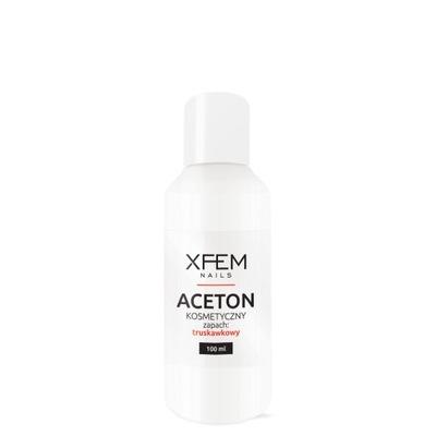 Aceton Kosmetyczny Truskawka XFEM Remover - 100 ml