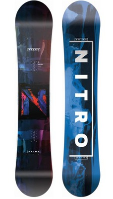 Deska snowboardowa Nitro Prime Overlay 158