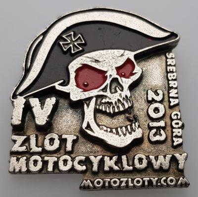 ZNACZEK, ODZNAKA, PLACA ZLOTOWA, MOTOCICLETA -115