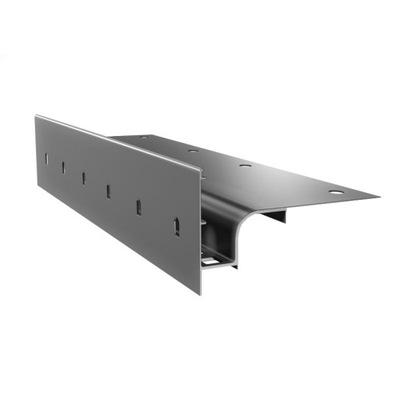 Профиль карниз W30 на террасы и балконы Renoplast
