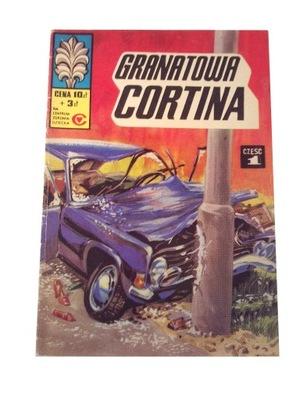 KAPITAN ŻBIK GRANATOWA CORTINA wyd. 1 1978 r.