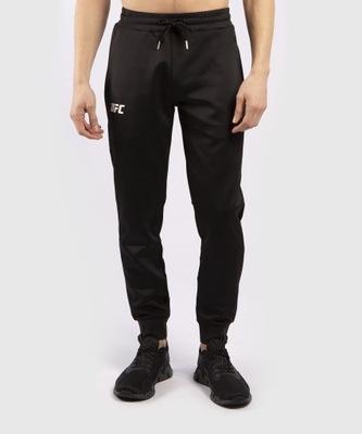 Spodnie Dresowe UFC Venum Pro Line Czarno/Białe L
