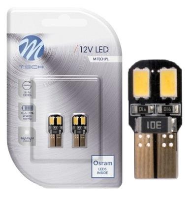 Żarówka T10 W5W M-TECH OSRAM LED biała canbus