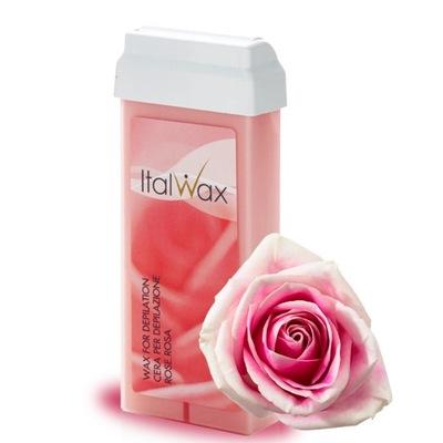 ItalWax Rose wosk w rolce do depilacji 100ml