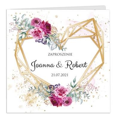 Zaproszenia Ślubne na Ślub Ariana2 KREATOR Projekt