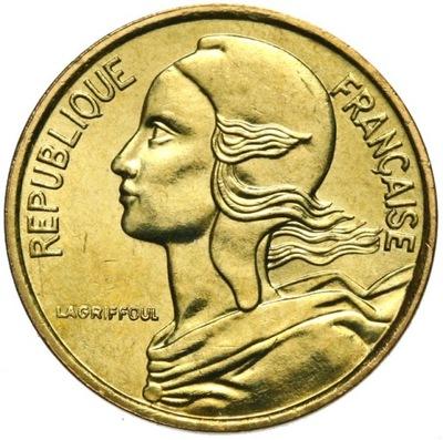 Francja - moneta - 5 Centymów 1986 - Stan UNC