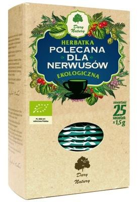 Herbatka dla nerwusów BIO Dary Natury 25x1,5g