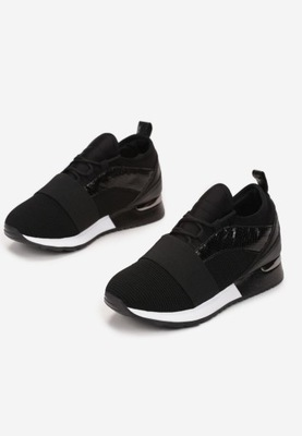 Czarne Buty Sportowe 39
