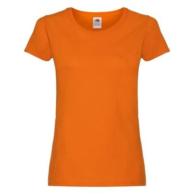 DAMSKA KOSZULKA T-SHIRT FRUIT orange XL