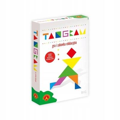 BIG TANGRAM gra dla dzieci kształty figury kolory