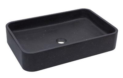 Umývadlo na dosku AD Stone, ETNA, čierne