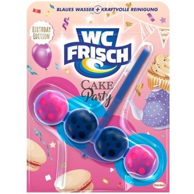 WC Frisch zawieszka do WC barwiąca cake party 50 g