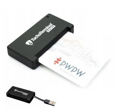СЧИТЫВАТЕЛЬ КАРТ KIEROWCOW USB TACHOTERMINAL+ ПОДАРОК
