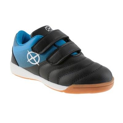 Buty sport halówki wkł.skóra na rzepy lekkie Axim
