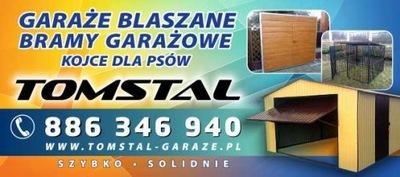GARAZE BLASZANE GARAZ BLASZANY 3x5m