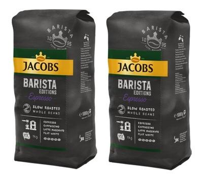 ДЖЕЙКОБС Barista Espresso 2 кг(2x1kg) кофе ? зернах