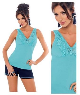 bd3999dbef5626 DONNA urocza piżama KLAUDIA 1/2_M_38 7956383710 - Allegro.pl