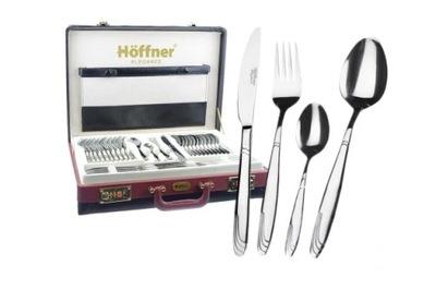 Столовые приборы Хоффнер комплект Чемодан блеск HF 7330