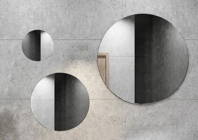 Zrkadlová súprava s kruhovým kruhom 25 30 40 bez podkrovného rámu