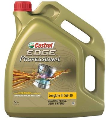 Castrol Edge Professional Longlife III 5W30 5L