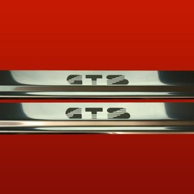 BRIDAS PARA UMBRALES LUSTRE VW SCIROCCO MK2 81-92 GTS