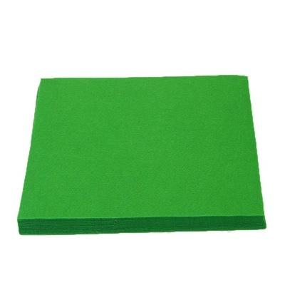 Filc A4 1mm dekoracyjny zielony