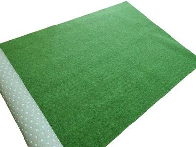 мягкая искусственная трава КАК КОВЕР Снаружи ДЛИЛАСЬ