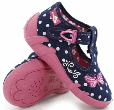 RENBUT kapcie dziecięce obuwie tekstylne RE-13-102