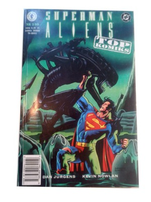 SUPERMAN ALIENS 3/99 - stan kolekcjonerski.