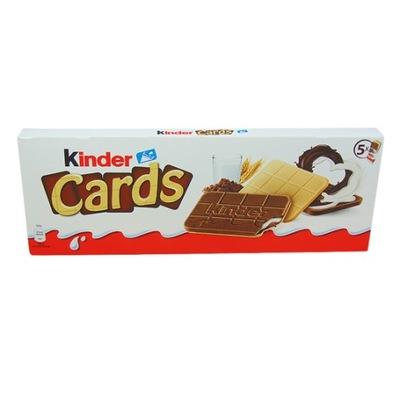 KINDER CARDS ЛАТТЕ/КАКАО 128G.