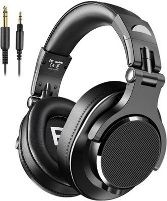 Słuchawki z mikrofonem nauszne studyjne DJ Y71